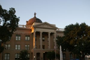 Williamson County Courthouse is not far from Johnston Counseling and Wellness